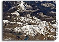 Mt. Everest - Chomolungma - Sagarmatha - As Seen From Orbit