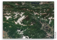 Earth from Space: Mount Triglav, Slovenia