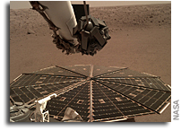 InSight Hears The Winds Of Mars