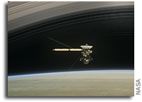 Close Orbits of Saturn By Cassini Yield Surprising Results