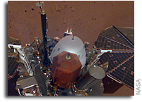 InSight Takes Its First Selfie