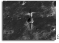 LRO Images SMART-1 Crash Site