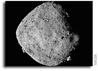 OSIRIS-REx Finds Water On Asteroid Bennu