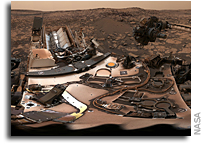 Curiosity Encounters Some Hard Rocks On Mars