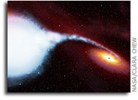 Never-before-seen Matter Around A Black Hole
