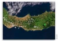 Earth from Space - São Miguel, Azores