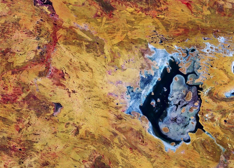 Earth from Space: Lake Disappointment - Australia