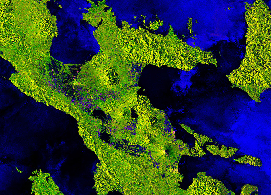 Earth from Space: Mount Mayon, Philippines