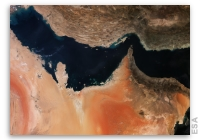Earth from Space: The Gulf