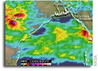 India's Deadly Monsoon Rainfall Measured