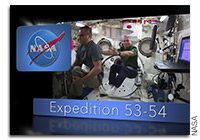 NASA Post Flight Presentation With Astronauts Joe Acaba and Mark Vande Hei