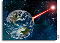 Existing Laser Technology Could Attract Alien Astronomers