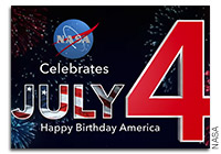 Happy 4th of July from NASA