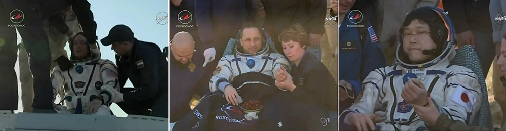 Expedition 55 Astronauts Return Safely Back to Earth