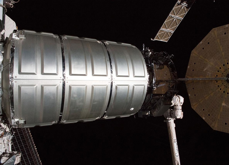 NASA Space Station On-Orbit Status 16 July 2018 - Cygnus Departs