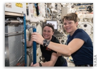 NASA Space Station On-Orbit Status 12 December 2018 - A Little Extra Sleep Today