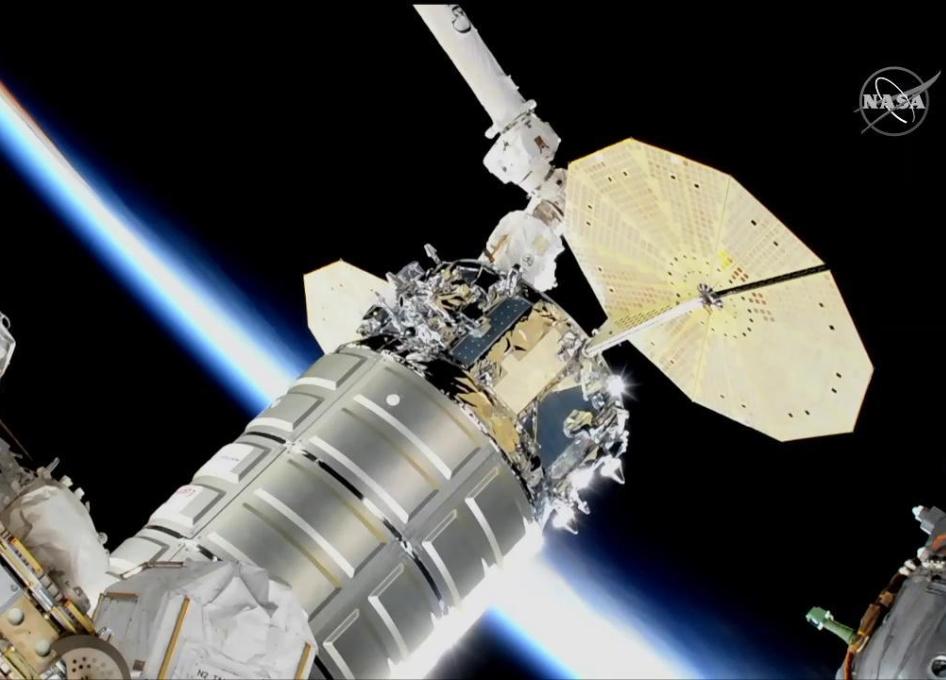 nasa space station on orbit status 19 november 2018 cygnus