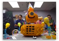 Here's What Happens When NASA Has a Pumpkin-Carving Contest