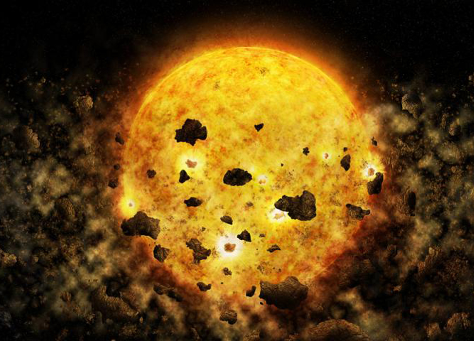 X-ray Data Suggests That A Star Is Devouring A Planet