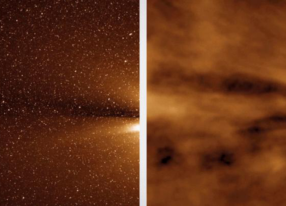 Discovering Structure In The Sun's Outer Corona