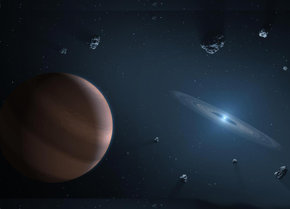Study of Material Surrounding Distant Stars Shows Earth's Ingredients Are Pretty Normal