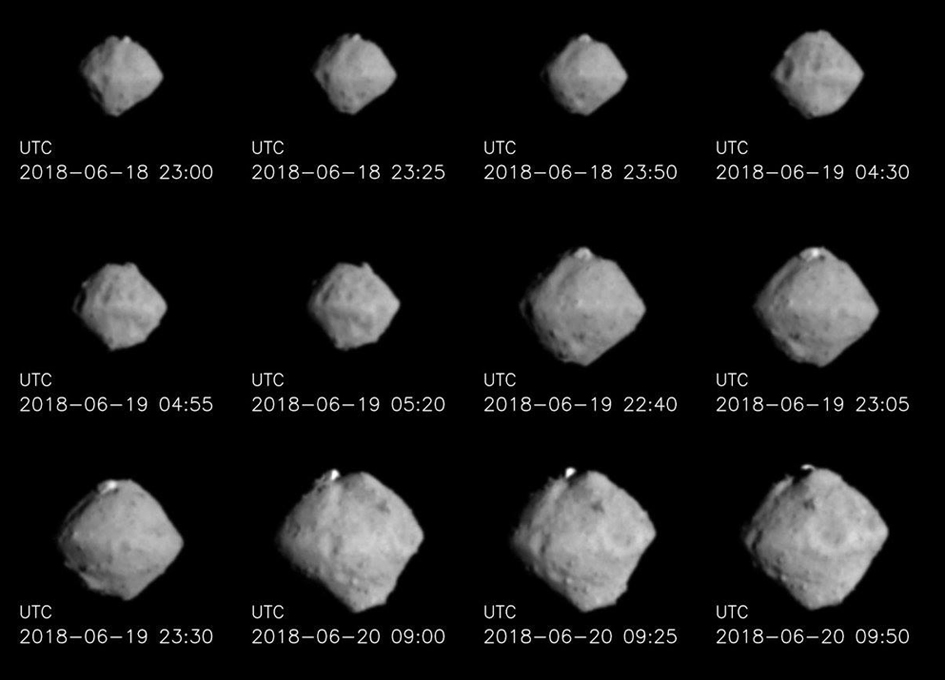 Asteroid Ryugu As Seen By Hayabusa 2 On Approach