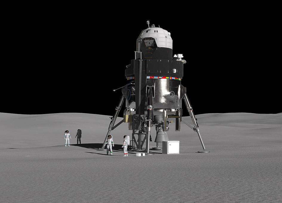 Lockheed Martin Reveals New Human Lunar Lander Concept