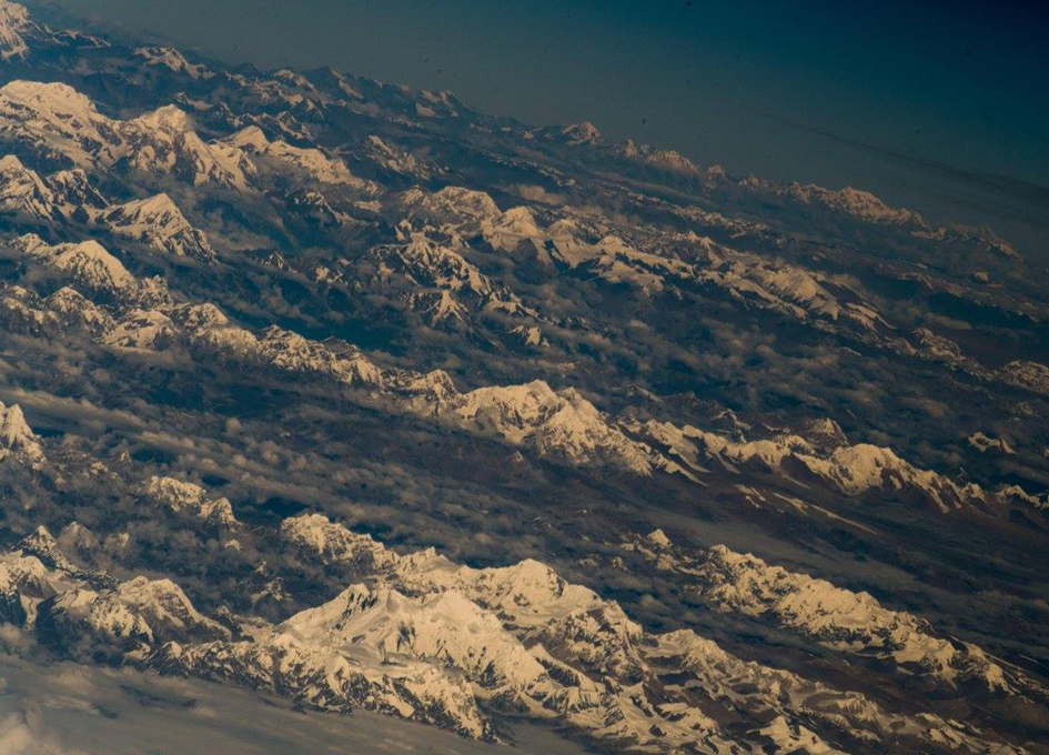 The Himalayas As Seen From Orbit