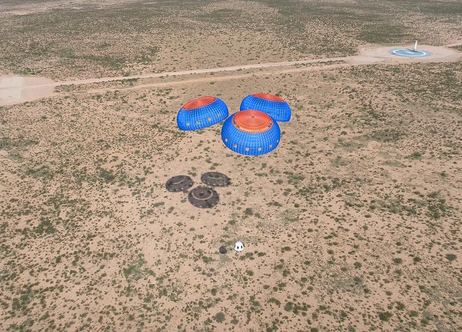 Blue Origin Mission 9 A Total Success