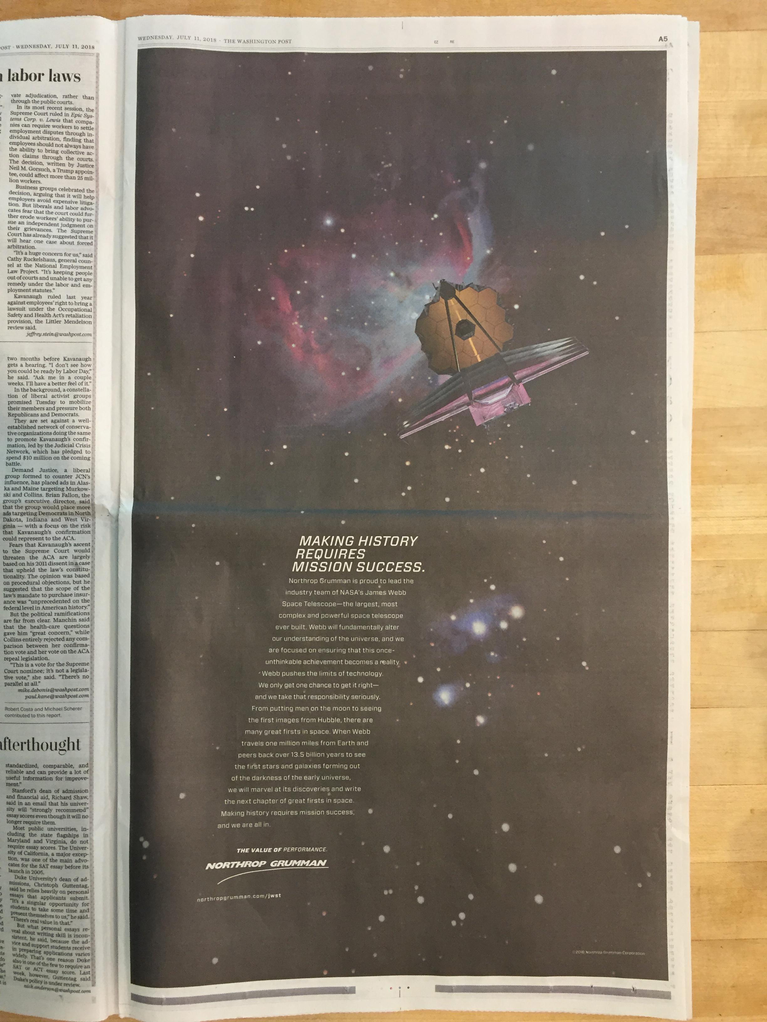 NASA Watch: July 2018 Archives