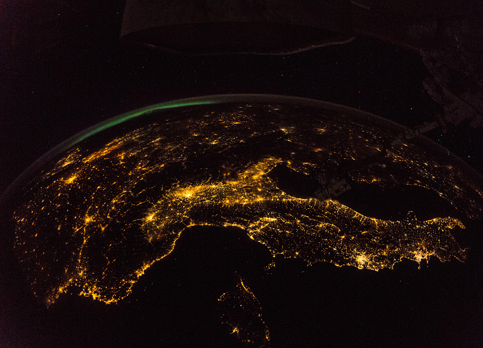 Mapping The Night From Orbit