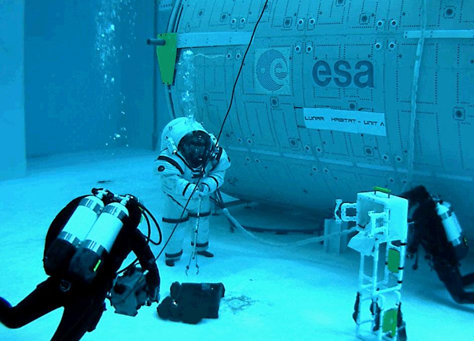 Walking On The Moon - Underwater