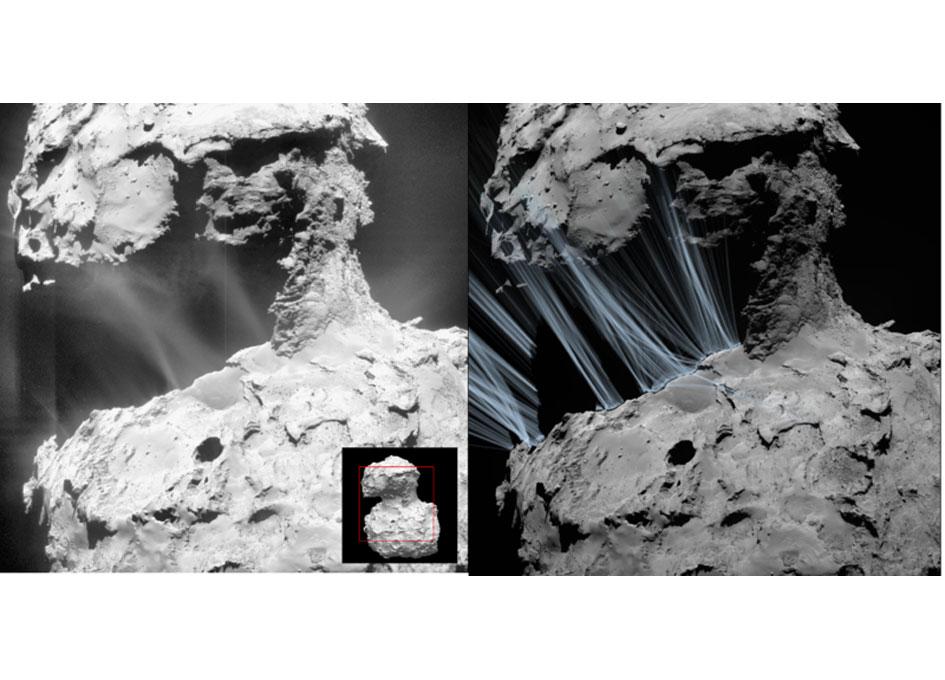 Rosetta Unravels Formation of Comet's Sunrise Jets