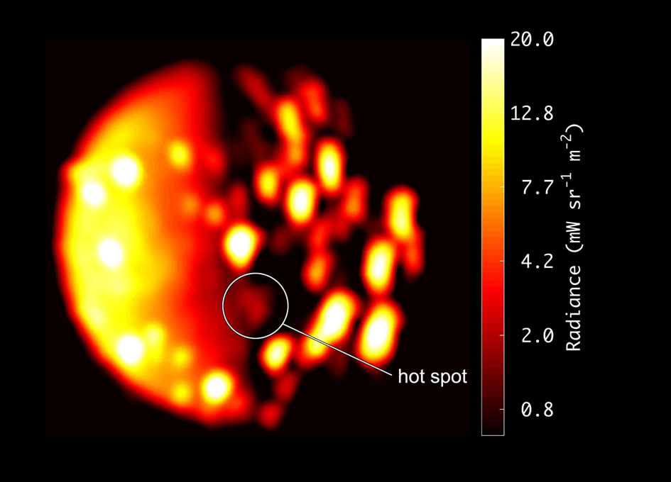 NASA's Juno locates undiscovered Volcano on Jupiter's Io moon