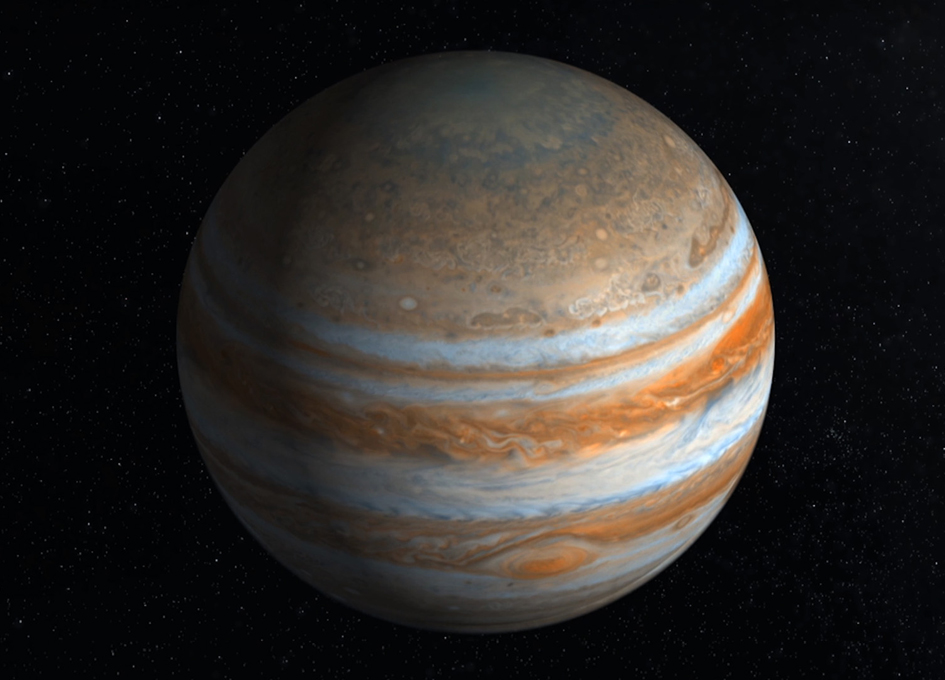 Scientists Peek At Jupiter's Great Red Spot To Find Water