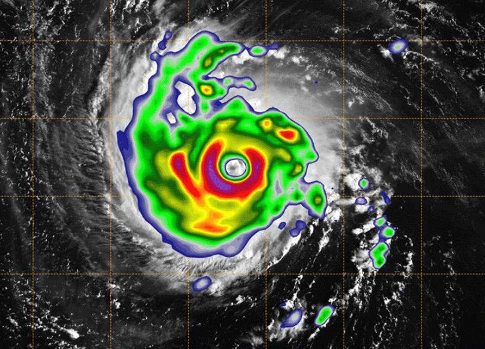 New Small Satellite Peers Inside Hurricane Florence