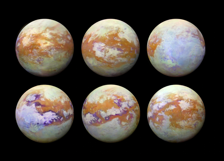 Stunning New Infrared Imagery Of Titan