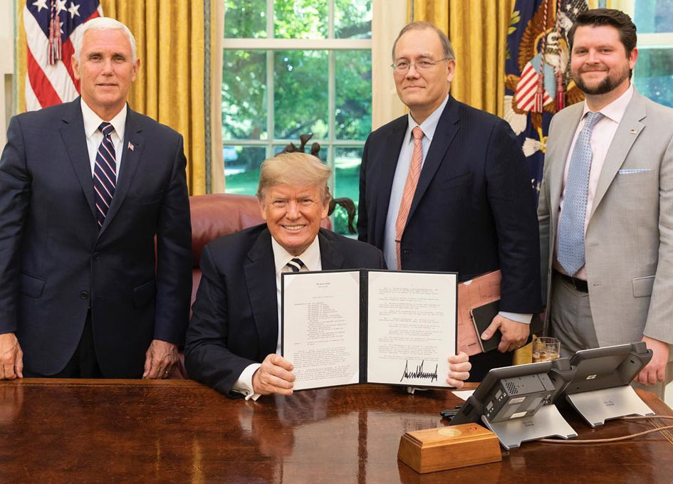 Space Policy Directive-2 Signed