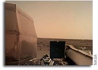 Mars InSight Deploys Its Solar Panels
