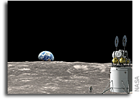 NASA Seeks US Partners to Develop Reusable Systems to Land Astronauts on Moon