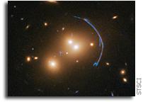 Hubble Probes the Distant Past Via Gravitational Lens