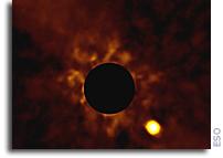 Watch Exoplanet Beta Pictoris b Orbit Its Parent Star