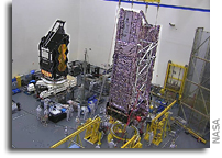 Webb Space Telescope Moved To Testing Chambers