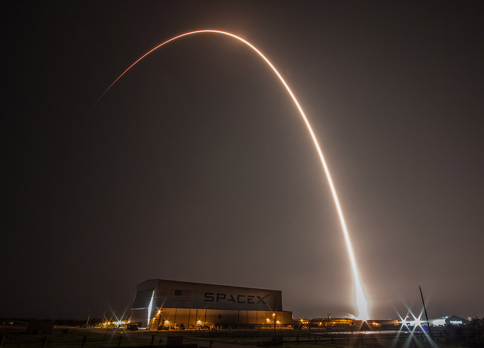 SpaceX Falcon 9 Rocket Launches SES-12