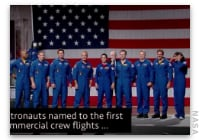 This Week at NASA: New Commercial Crew Astronauts and More