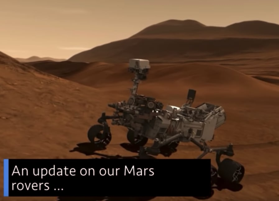 this week at nasa mars rover update and more spaceref. Black Bedroom Furniture Sets. Home Design Ideas