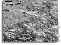 Evidence for Ancient Glaciation on Pluto