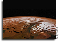 Massive Ice Discovery Opens A Window Into Mars' History