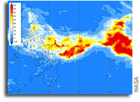 NASA Analyzes Kammuri's Heavy Rainfall