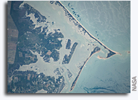 Cape Lookout, North Carolina Seen From Orbit